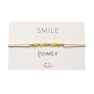Bracelet en code morse SMILE Power